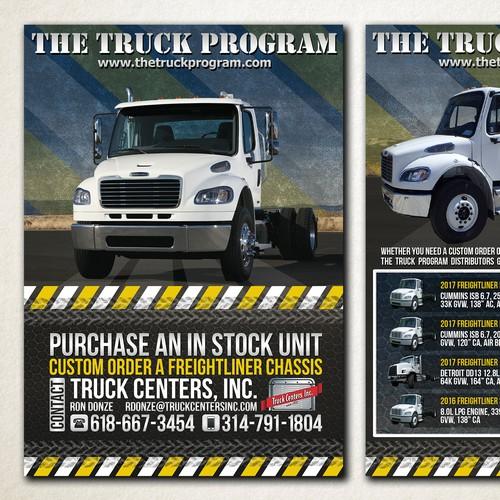 Flyer for 'The Truck Program'