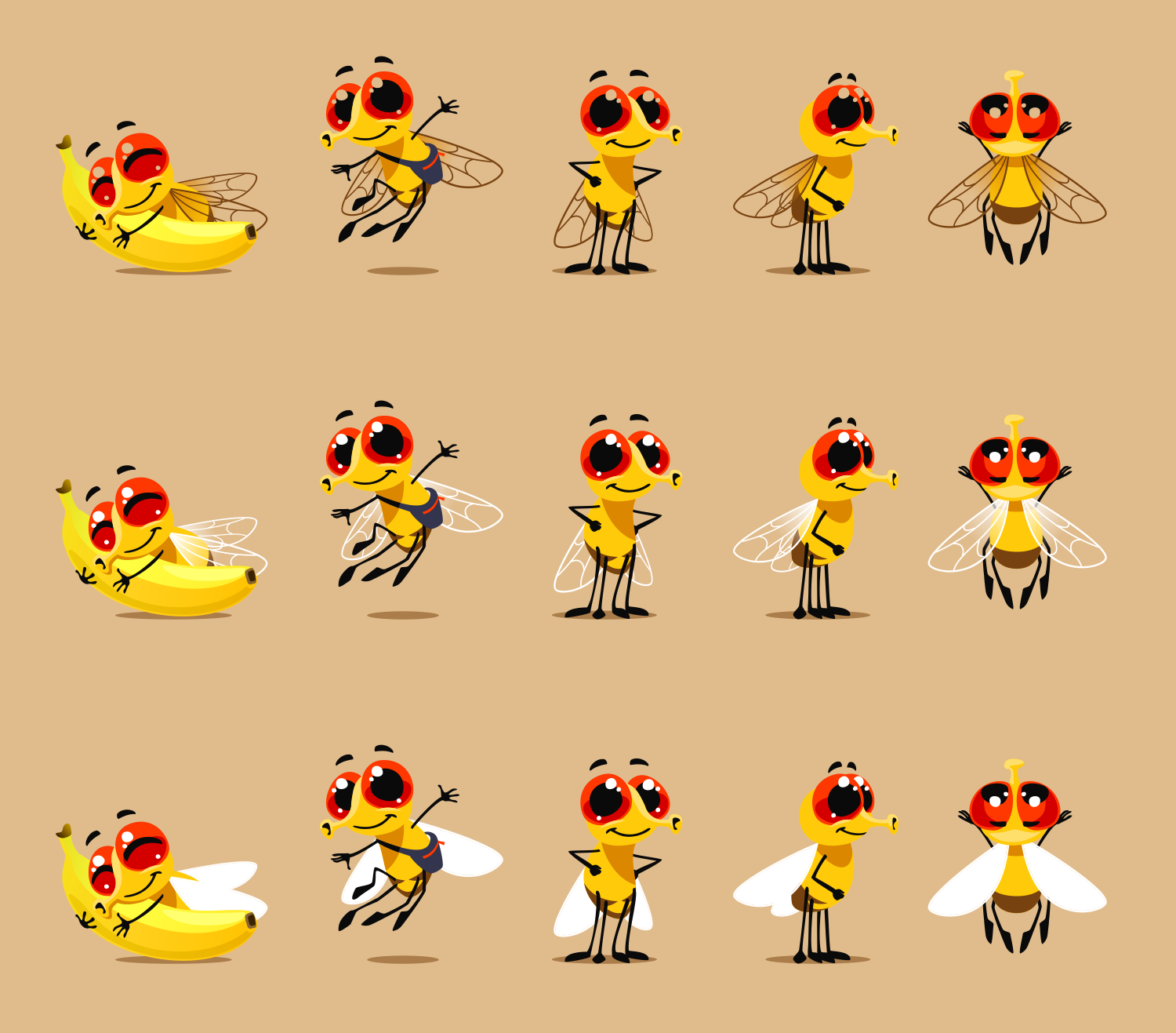 Create a fruit fly mascot - for a life trap!