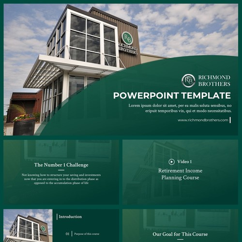 Powerpoint Template for Richmond Brothers