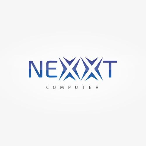 Bold Logo for a computer company