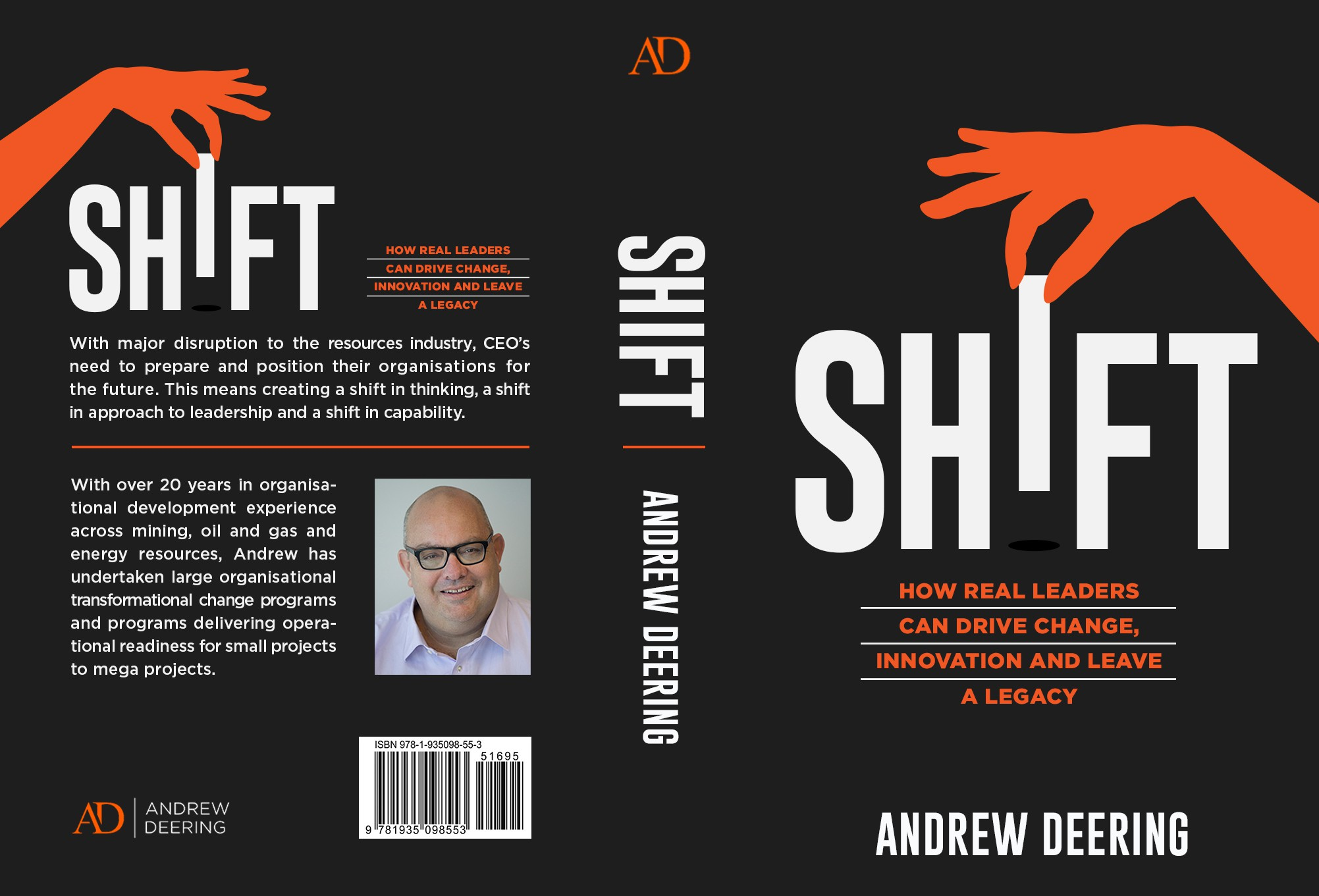 Design a book cover to create a SHIFT!