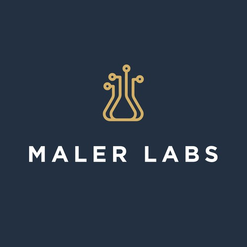 Maler Labs Logo design.
