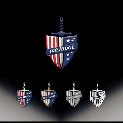100 Judge Logo