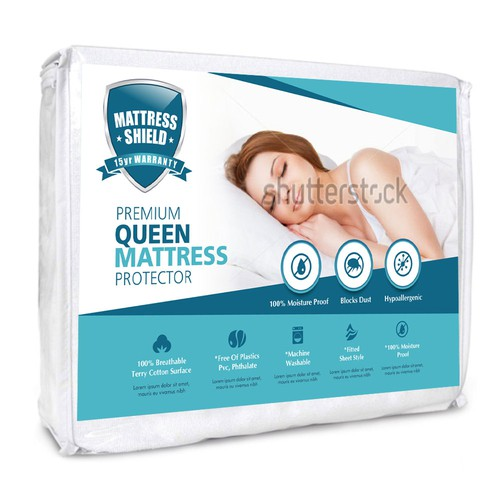 Package design concept for a mattress company