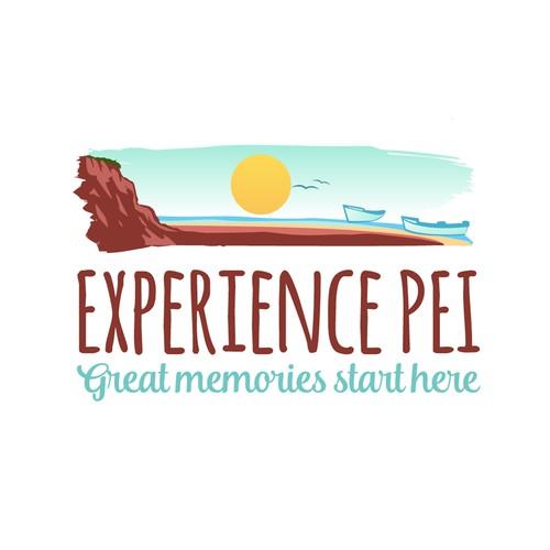 Experience PEI logo design