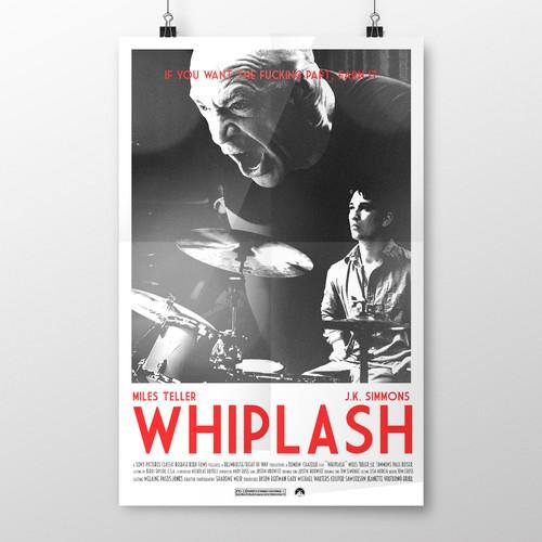 Whiplash 80's Poster