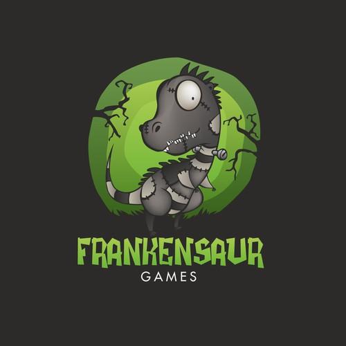 Logo Design for Frankensaur Games