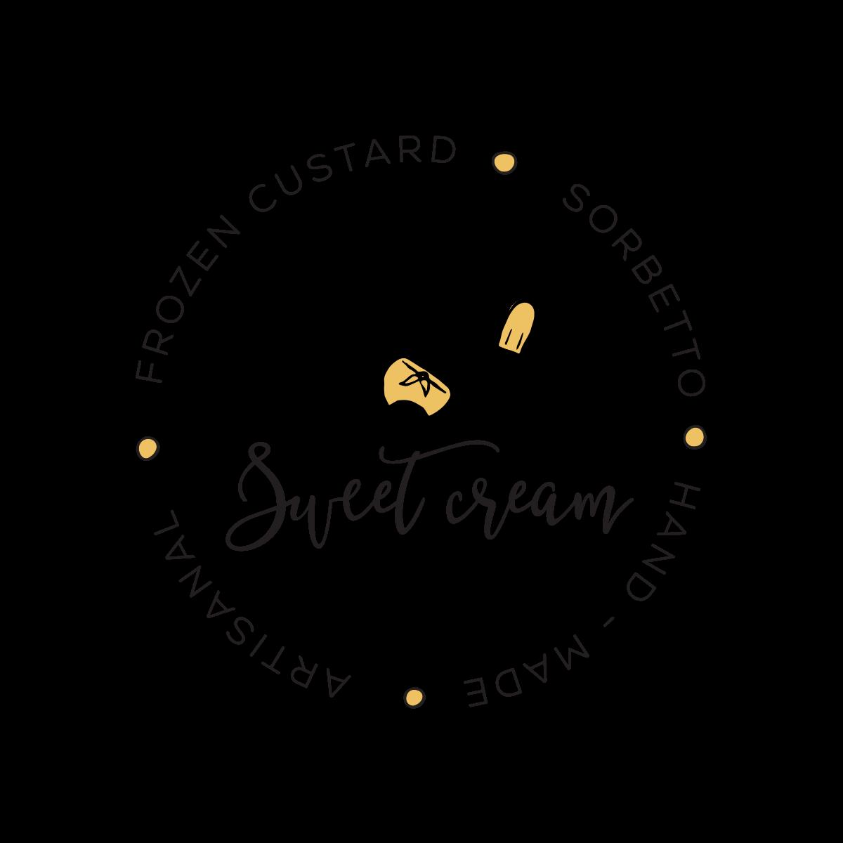 Updated Sweet Cream Pops Logo