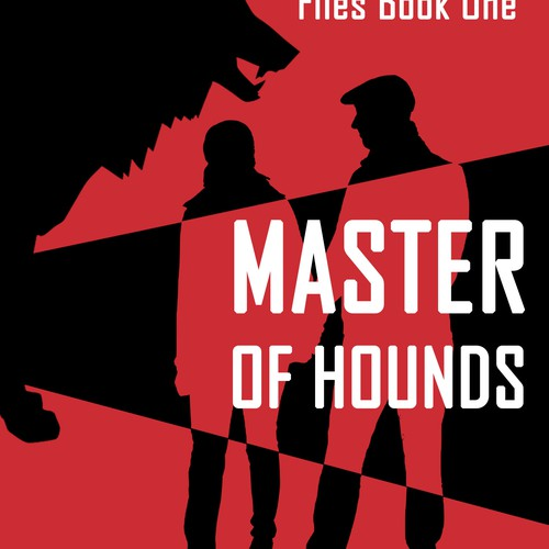 """Book cover """"Master of hounds"""""""