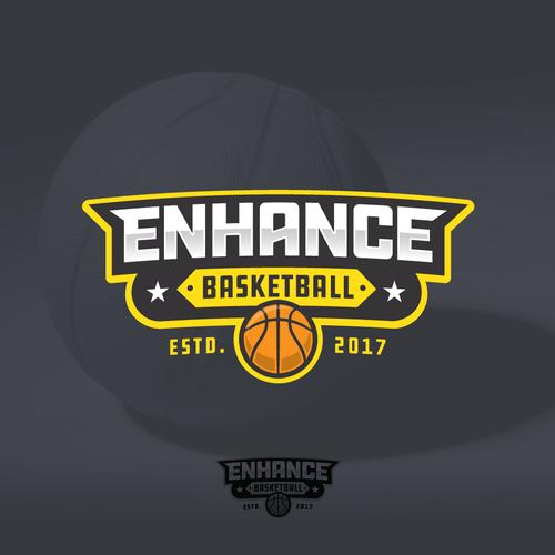 Bold logo for Enhance Basketball