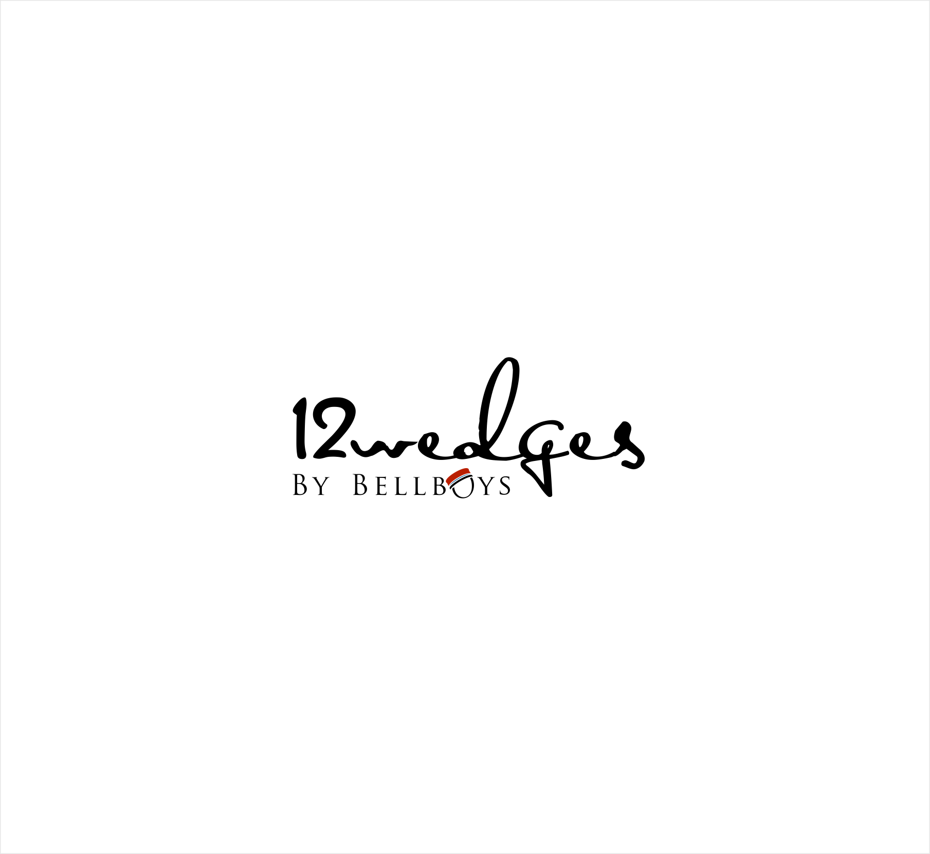 create a sophisticated brand logo for premium online cake business - 12wedges