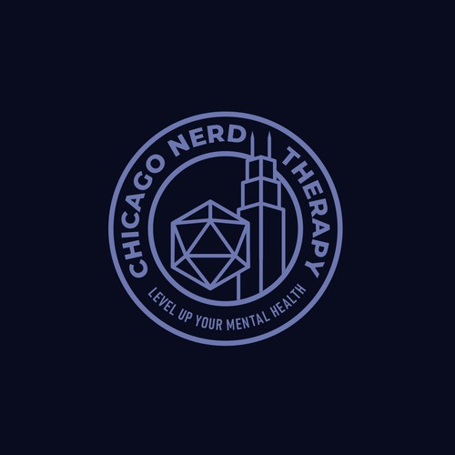Logo for Chicago Nerd Therapy