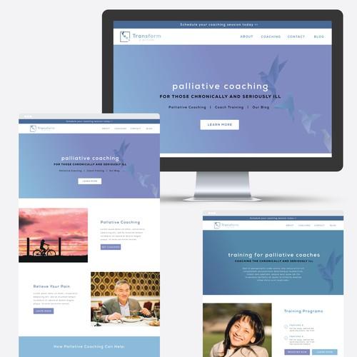 Website Design for Transform 2 Action