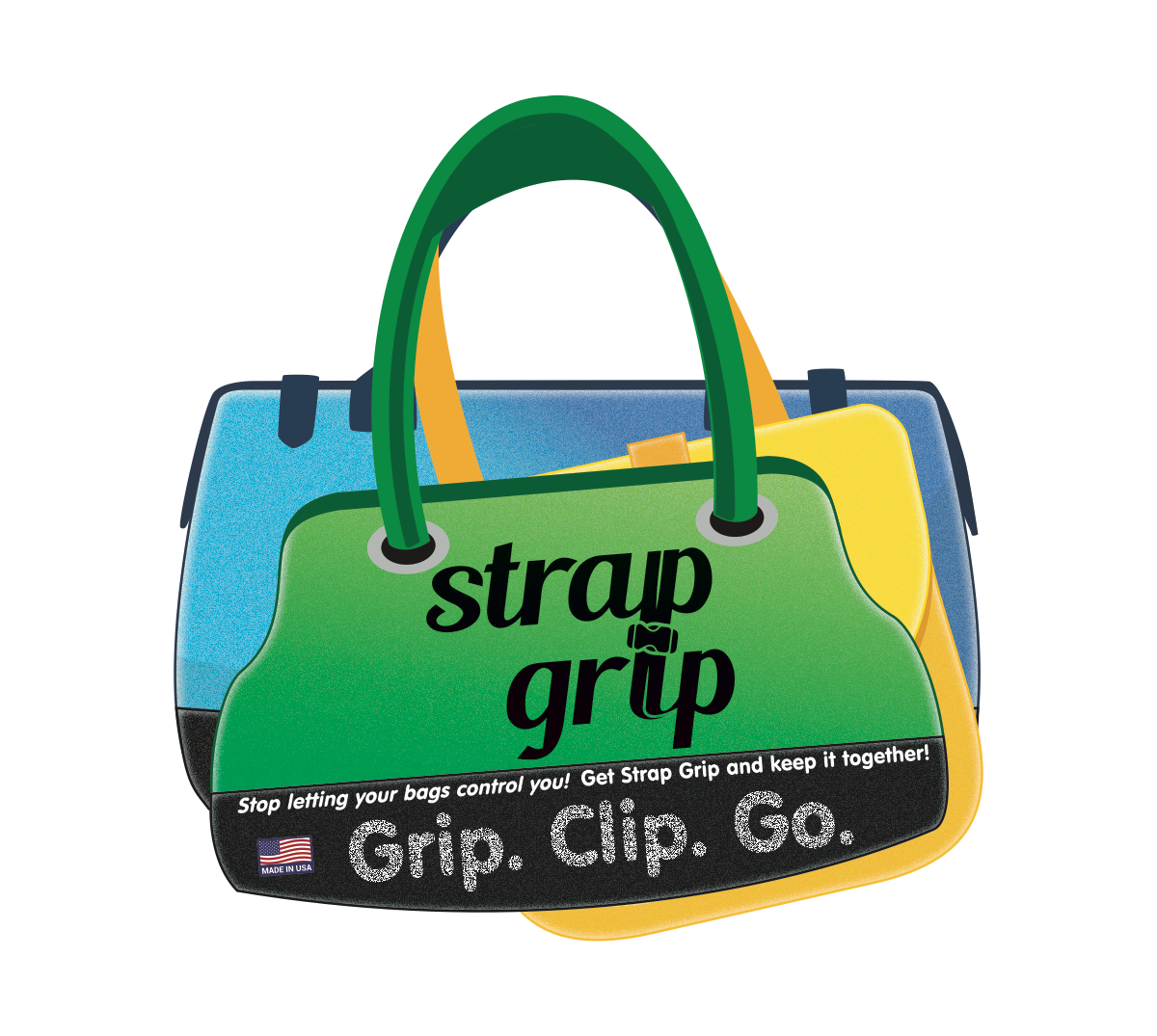 Package design for a bag strap accessory