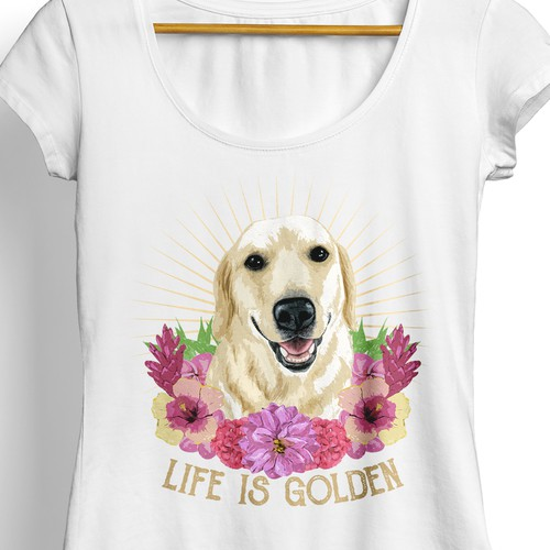 Golden Retriever Design