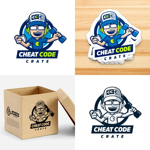 Logo for Cheat Code Crate