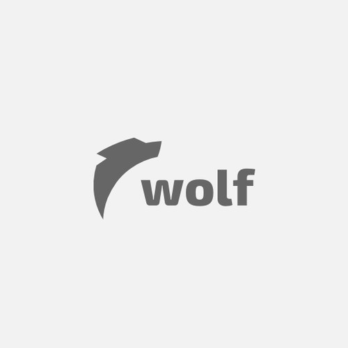 Create a FLAT logo for WOLF - The Next HUGE Social App - SiliconValley Start-up