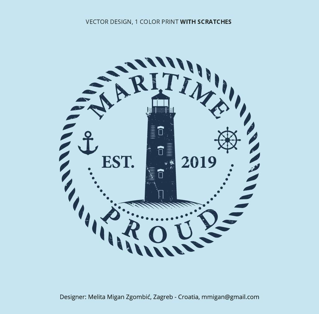 Lighthouse Themed Apparel Logo.