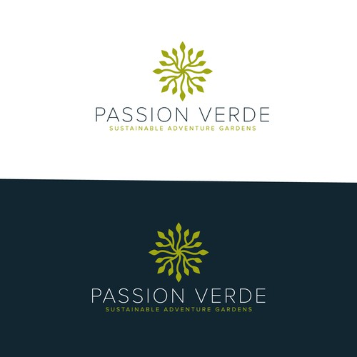 bold logo for adventure gardens