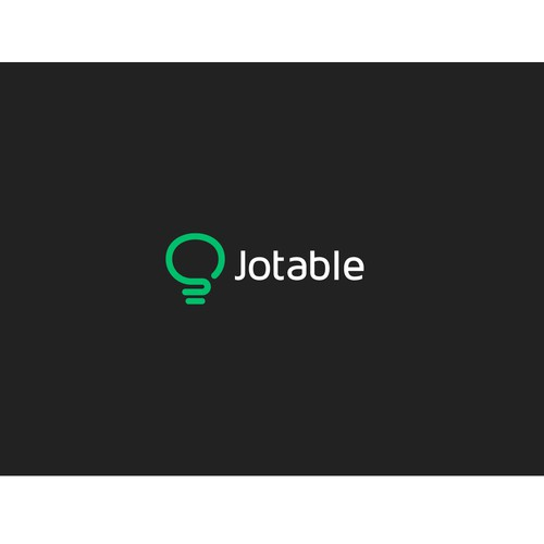 Create a visually inspiring logo, for Idea sharing site Jotable