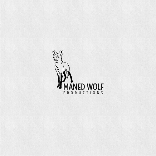 Maned Wolf Productions Logo