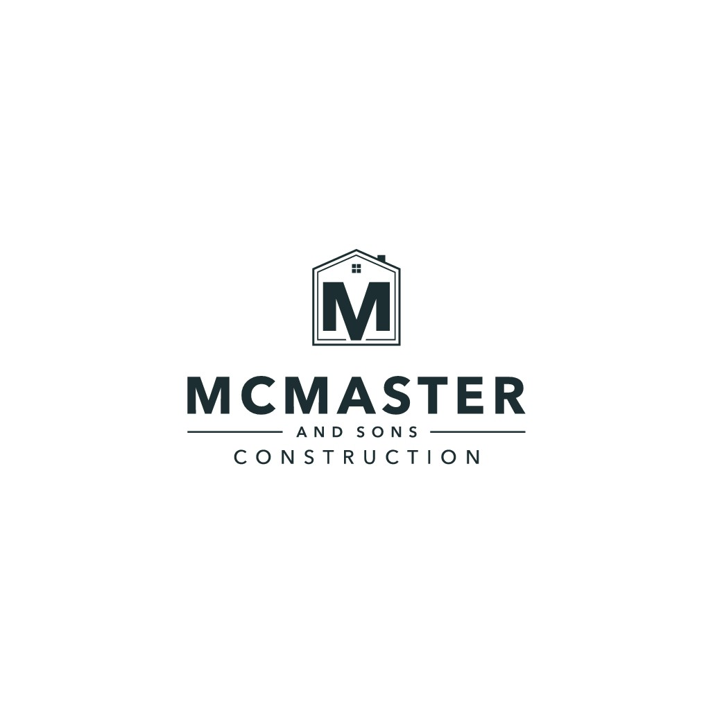 McMaster and Sons Construction Logo Contest