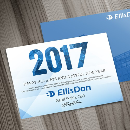 EllisDon holiday card