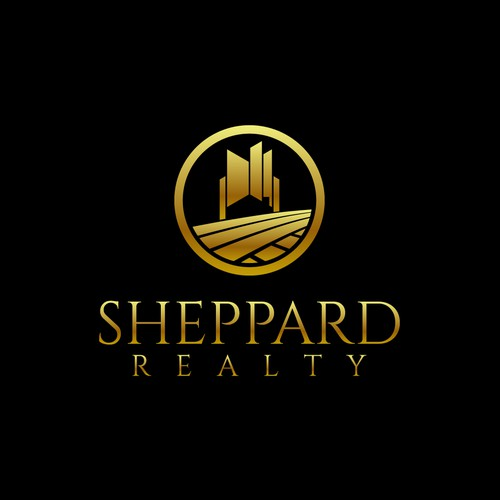 Luxurious logo for real estate brokerage