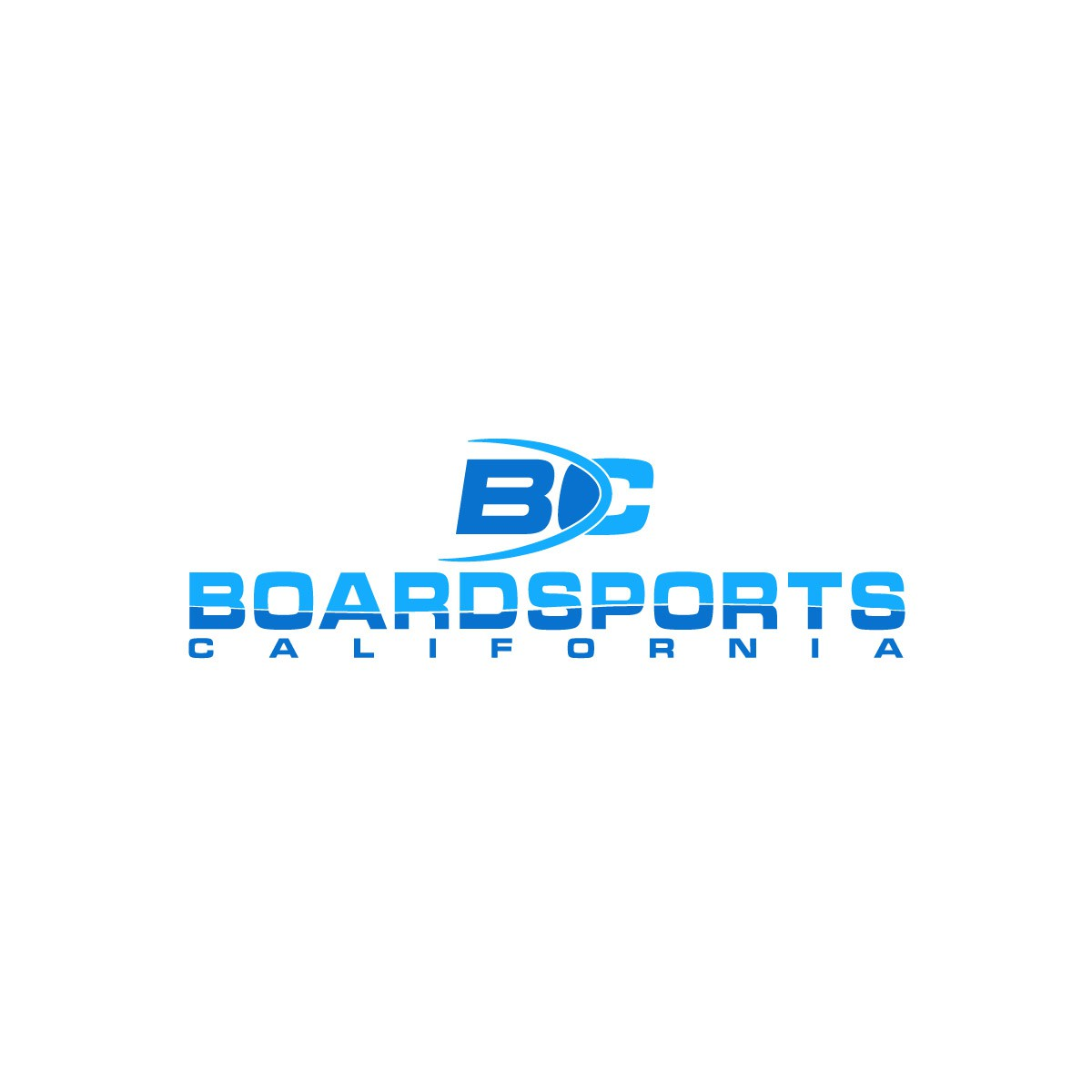 Action Sports Retailer Boardsports - create a bold, powerful and clean illustration