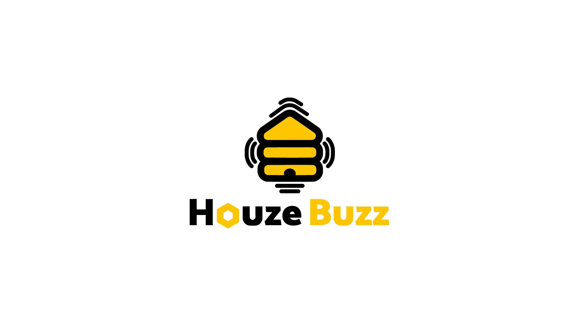 Houze Buzz Logo Design