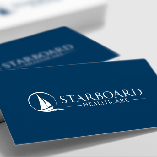 Minimal and simple logo for Starboard Healthcare