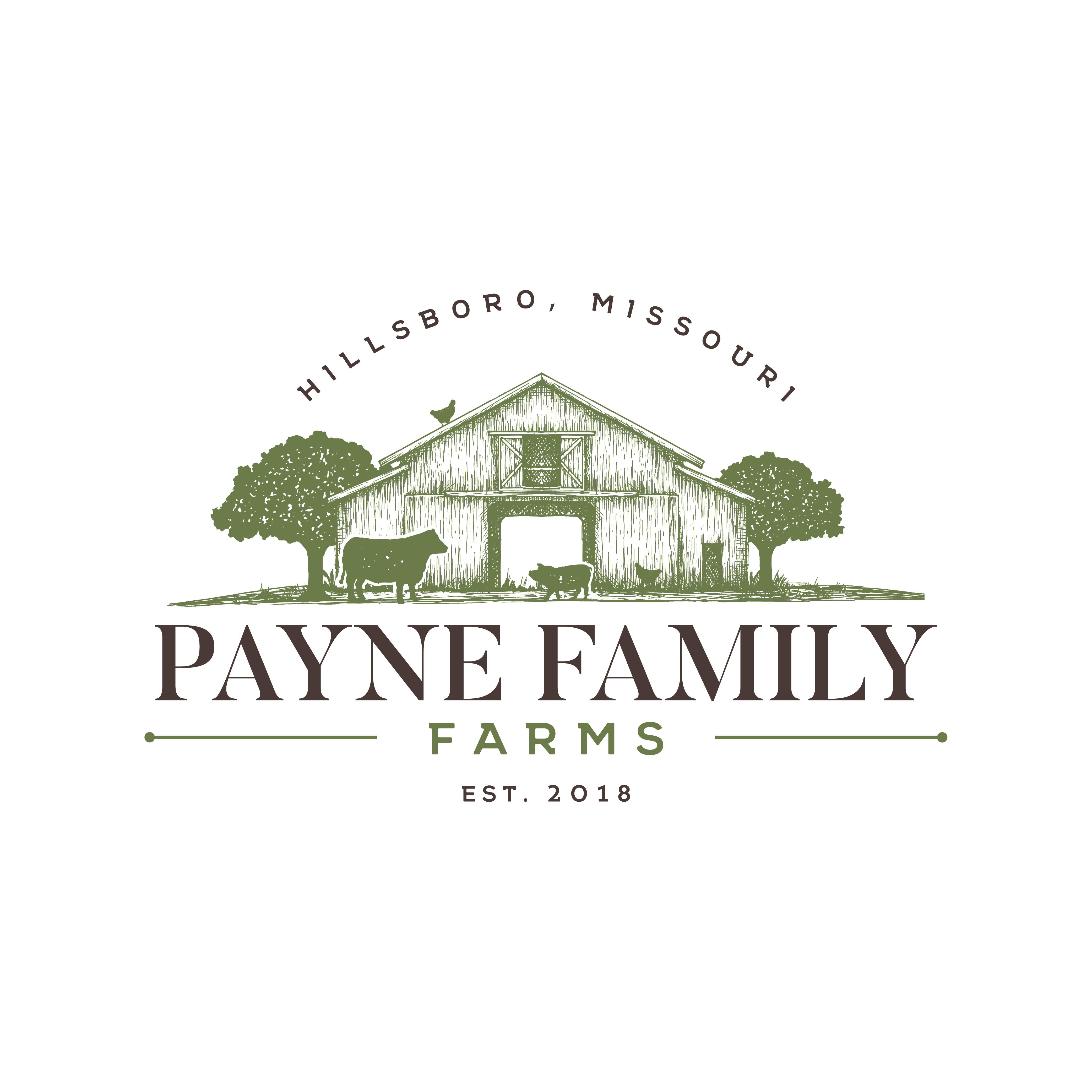 Fresh/New Age Logo for Payne Family Farms