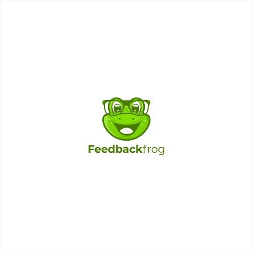 Playful frog