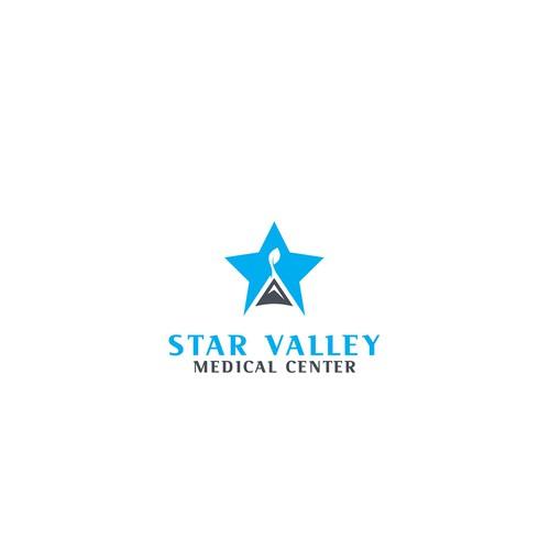 Logo concept for healthcare organization