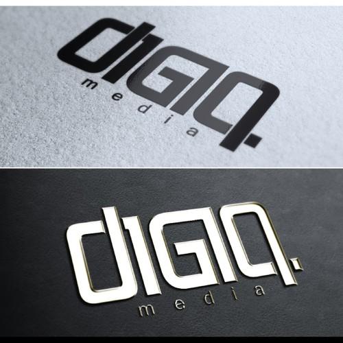 DigiQ (Logo & Business Card)