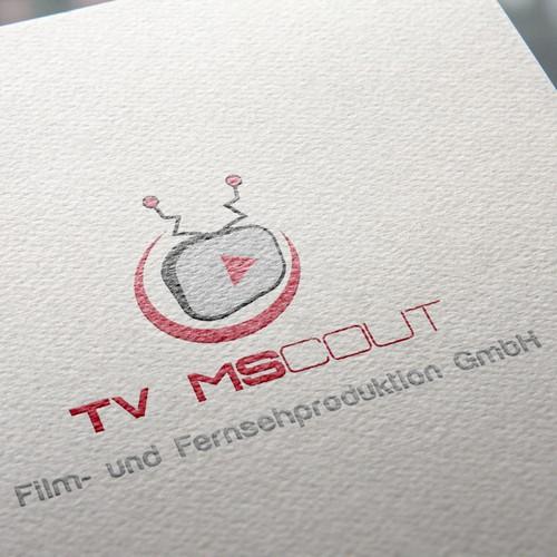 Logo für Film- und Fernsehproduktion - jung, schrill aber seriös!