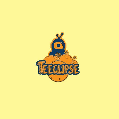 Teeclipse logo design