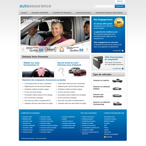 website design for Autoassurance
