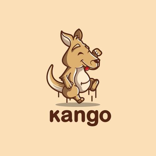 Cute Kangaroo Character