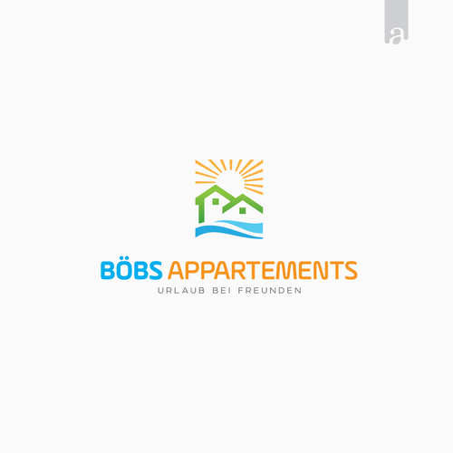 Logo concept for Boebs Apartment