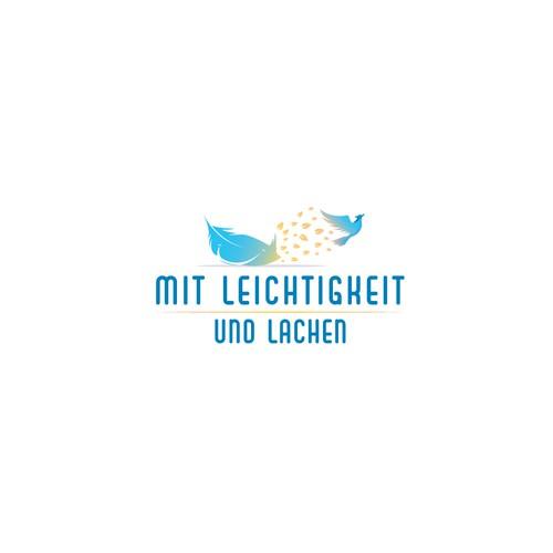 """Logo for """"Mit Laichtigkeit"""""""