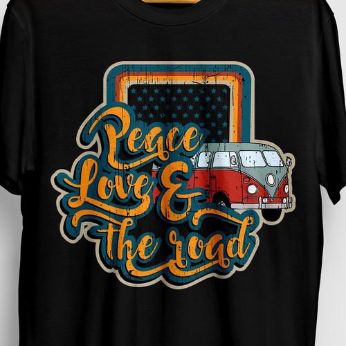 retro design tshirt