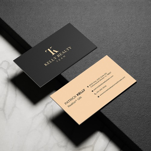 Kelly Realty Team Brand and Business card Design
