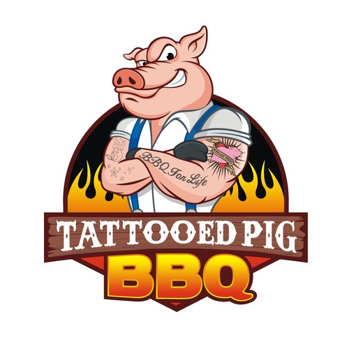 BBQ Restaurant Logo