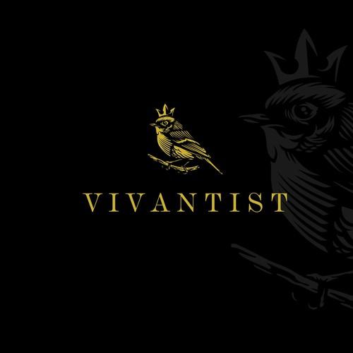 logo type luxury for VIVANTIST