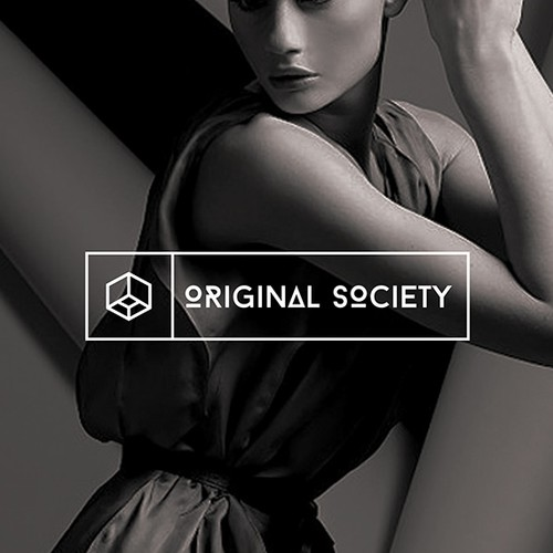 Bold logo concept for the fashion  online shop