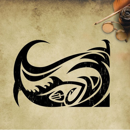 Surfer Style Ocean/Fish Tattoo Art