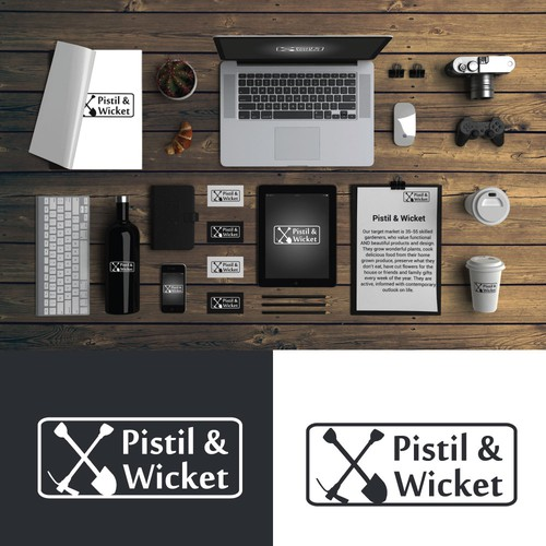 Bold Logo For Pistil and Wicket