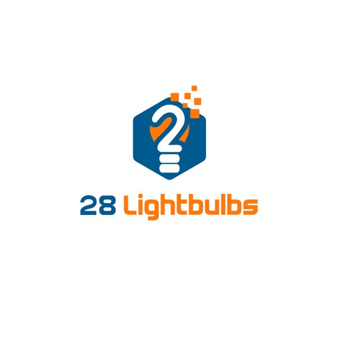 logo concept for 28 Lightbulbs