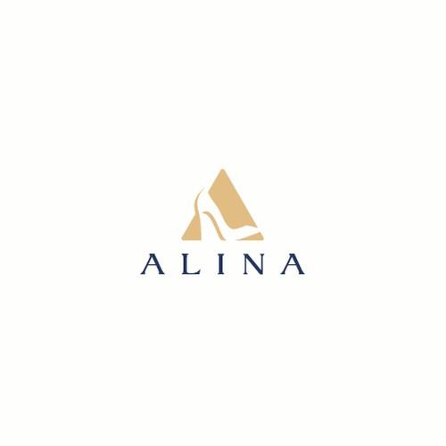 Monogram letter 'A'